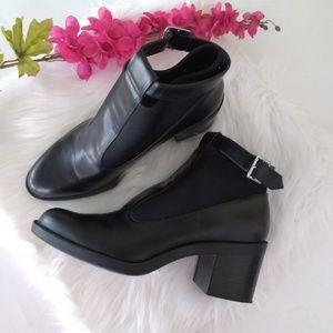 ZARA Black Trafaluc Ankle Boots